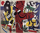 Fernand Leger Good Bye New York 1946