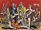 Fernand Leger Leisure 1944