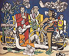 Leisure Homage to David c1948 - Fernand Leger