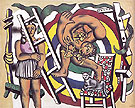 The Acrobat and his partner 1948 - Fernand Leger