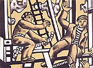 Construction Workers 1951 A - Fernand Leger