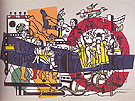 The Great Parade Final State 1954 - Fernand Leger