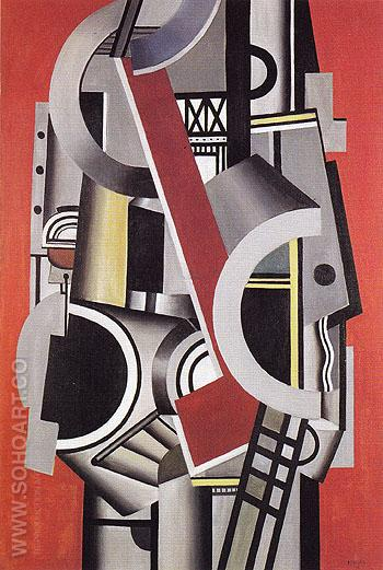 Mechanical Element 1924 - Fernand Leger reproduction oil painting