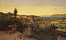 View of the Straits of Messina from a Country House 1859 - Niels Emil Severin Holm