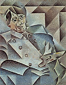 Portrait of Picasso 1912 - Juan Gris