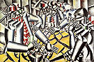 The Card Players 1917 - Fernand Leger