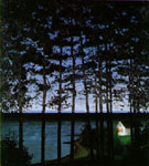 Harald Sohlberg Fishermans Cottage 1907