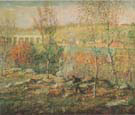 Harlem River c1911 - Ernest Lawson