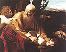 The Sacrifice of Isaac 1603 - Caravaggio