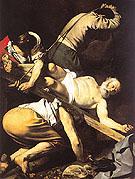 The Crucifixion of Saint Peter 1601 - Caravaggio