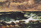 The Wave c1869 - Gustave Courbet