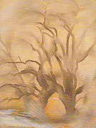 Georgia O'Keeffe Winter Cottonwood East V 1954