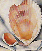 Georgia O'Keeffe Two Pink Shells 1937