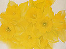 Georgia O'Keeffe Yellow Jonquils No 2 1936