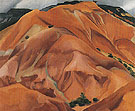 Georgia O'Keeffe The Mountain New Mexico 1931