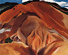 Georgia O'Keeffe Red Hills Beyond Abiquiu 1930