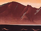 Georgia O'Keeffe Mountain At Bear Lake Taos 1930
