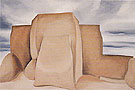 Georgia O'Keeffe Ranchos Church New Mexico 1930
