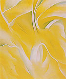 Georgia O'Keeffe Last Yellow White Birch 1928