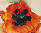 Georgia O'Keeffe Red Poppy 1928