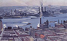 Georgia O'Keeffe East River From Both Story Of Shelton Hotel 1928