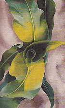 Corn No 3 1924 - Georgia O'Keeffe reproduction oil painting