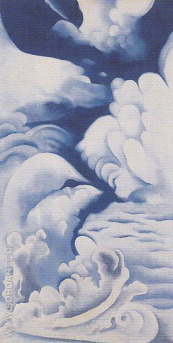 A Celebration 1924 - Georgia O'Keeffe reproduction oil painting