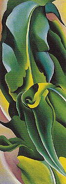 Corn No 2 1924 - Georgia O'Keeffe reproduction oil painting