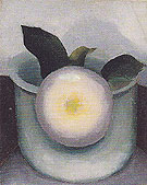 Georgia O'Keeffe Flower And Vase 1921