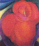 Georgia O'Keeffe Red Flower 1919