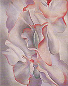 Georgia O'Keeffe Pink Sweet Peas 1927