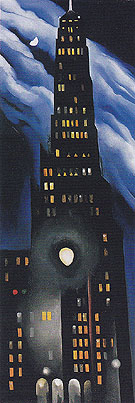 Georgia O'Keeffe Ritz Tower Night 1928