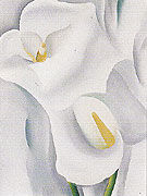Georgia O'Keeffe Calla Lilies 712 1930