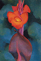 Red Canna B 1919 - Georgia O'Keeffe reproduction oil painting