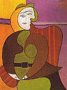 Pablo Picasso The Red Armchair 1931