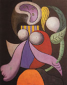 Pablo Picasso Woman with a Flower 1932
