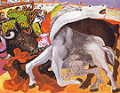 Pablo Picasso Bullfight Death of the Toreador 1933