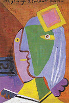 Pablo Picasso Woman with Cap 1934