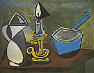 Pablo Picasso Pitcher Candle and Enamel Saucepan 1945