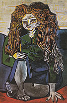 Pablo Picasso Portrait of Madame H.P. 1952