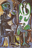 Pablo Picasso The Artist and His Model 1963