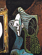 Pablo Picasso Woman with Mirror 1963