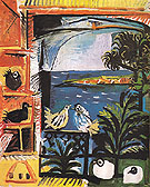 Pablo Picasso The Pigeons 1957