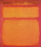 Mark Rothko Orange Red Yellow 1961