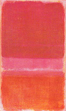 Mark Rothko Untitled Red 1956