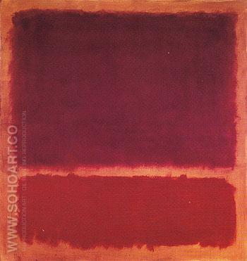 No 1 B 1962 - Mark Rothko reproduction oil painting