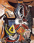 Pablo Picasso The Man with the Golden Helmet 1969