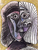 Head 1972 - Pablo Picasso