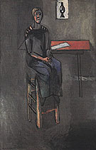 Woman on a High Stool Germaine Raynal 1914 - Matisse