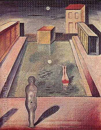 Aquis Submersus 1919 - Max Ernst reproduction oil painting